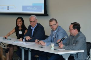 Panel during Indiana Startup Day