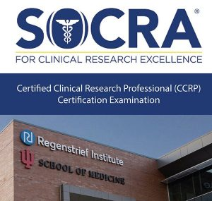 SOCRA Logo with Regenstrief Building