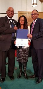 Johnanne Eliacin receives award from Congressional Black Caucus Veterans Braintrust